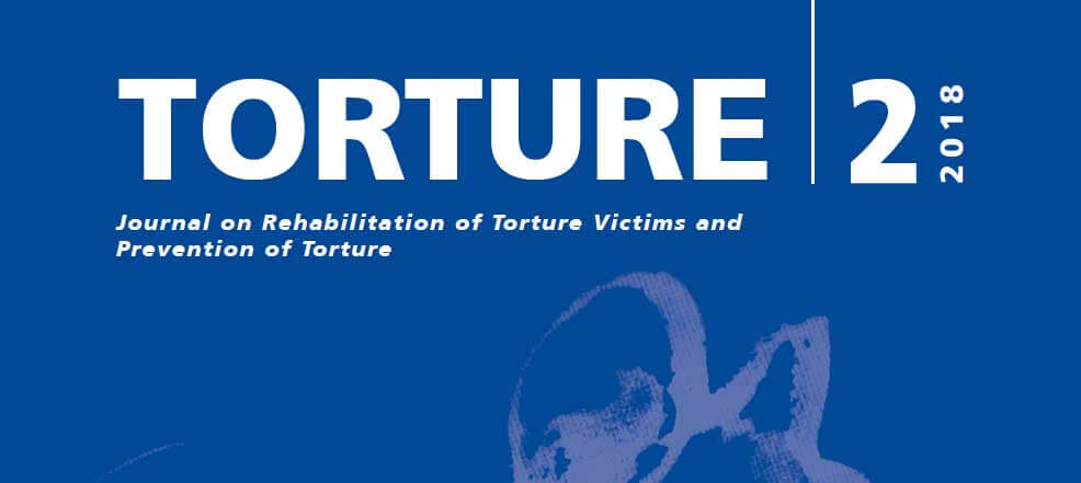 New issue of Torture Journal: Special section on migration and torture