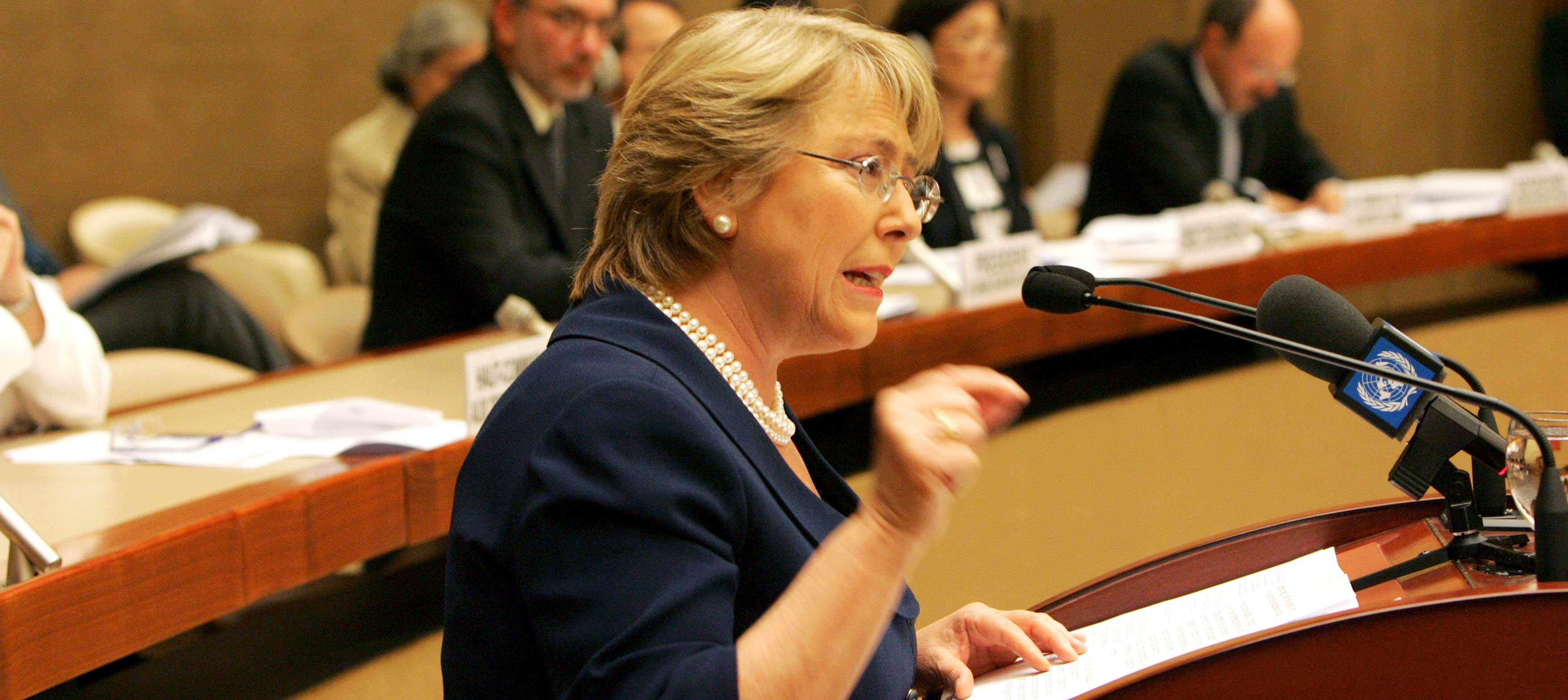 Michelle Bachelet appointed next UN human rights chief