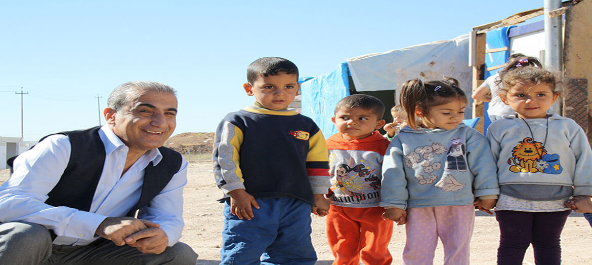 Triumphing over adversity to deliver rehabilitation to those in need in Iraq