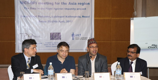 IRCT members across Asia attend DFI seminar in Nepal