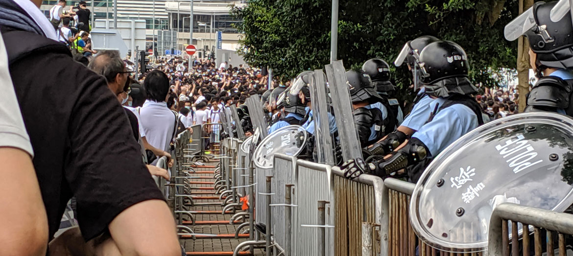 International Rehabilitation Council for Torture Victims and Justice Centre Hong Kong raise concerns at the UN Human Rights Council over abuse of powers by the Hong Kong police