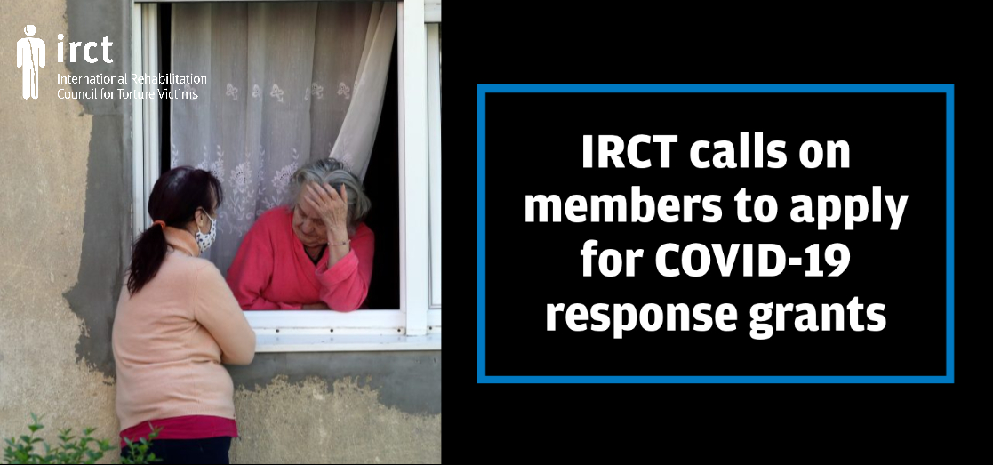 IRCT announces new round of COVID-19 response grants