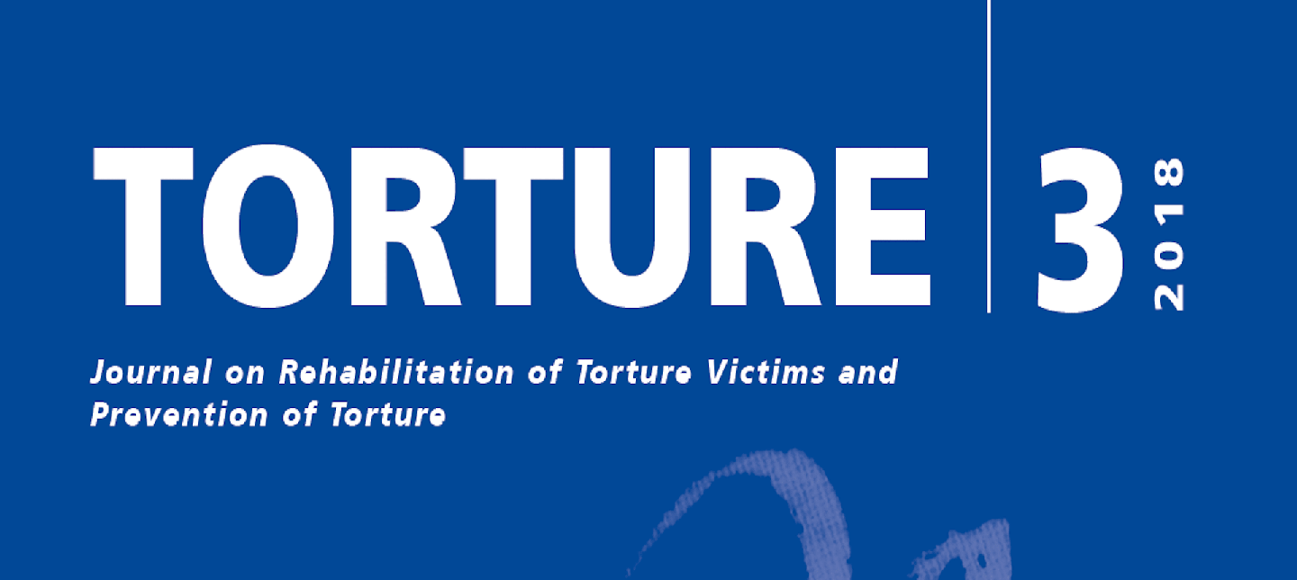 New issue of Torture Journal examines the impact of sexual torture