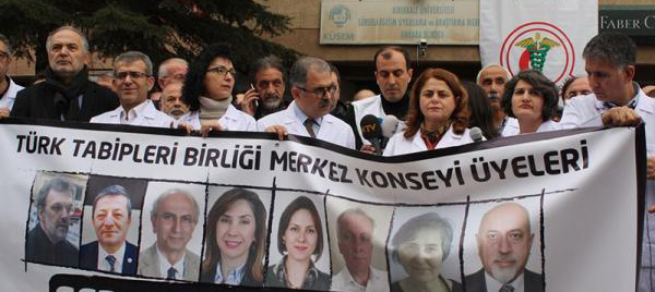 Prison sentences for 11 doctors an affront to human rights in Turkey